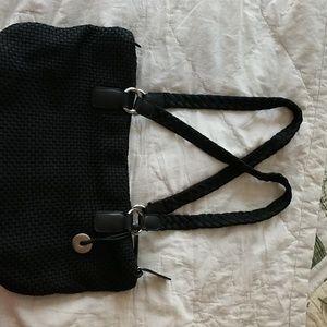 The Sak shoulder bag black, like new!